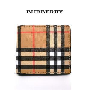 バーバリー 財布 メンズ BURBERRY 4074624 ノバチェック 二つ折り 短財布 折り畳み 本革 カーフレザー 5045553944819(t907)|italybag