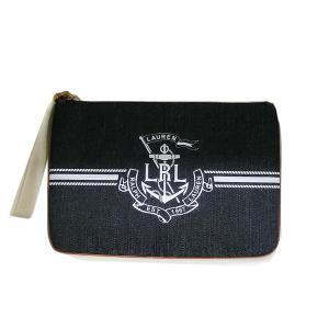 ローレン ラルフローレン クラッチバッグ RALPH LAUREN 鞄 ラルフ Ralph lauren デニム(t911-2)432733843001ポーチ|italybag