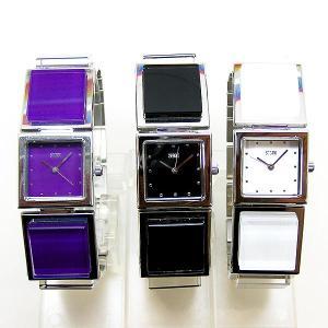 訳あり STORM LONDON TILLY 47083W 47083BK 47083P ウォッチ レディース ブラック ホワイト パープル クォーツ ストーム 腕時計(nd)|italybag
