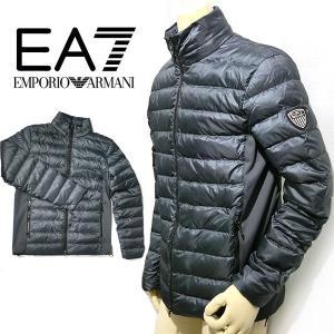 アウター EMPORIO ARMANI EA7 ダウン メンズ  8053378172253 6ypb14(t808) エンポリオアルマーニ EA7 6ypb14 italybag