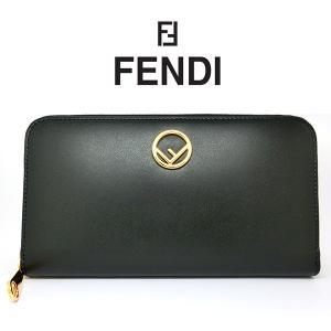 FENDI 長財布 フェンディ ラウンドファスナー 8M0299 A0KK F0KUR 8057941260279 レザー(t812-1)|italybag