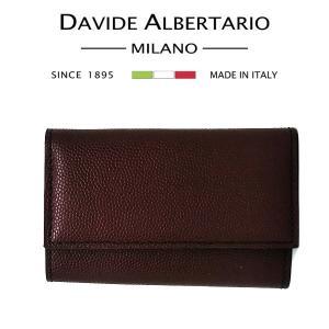 小傷あり キーケース 6連 本革 レザー 9922bn レディース ダビデアルベルタリオ DAVIDE ALBERTARIO(t807-1)|italybag