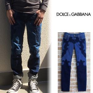 ドルチェ&ガッバーナ ドルガバ D&G Dolce&Gabbana ジーンズ デニムパンツ メンズ パッチワーク 83801776509|italybag