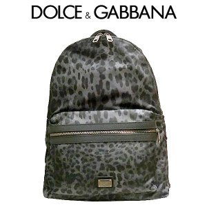 DOLCE&GABBANA ドルガバ リュックサック レオパード ドルチェ アンド ガッバーナ ナイロン バックパック バッグ bm1263 (t807-1) 8058349906011|italybag