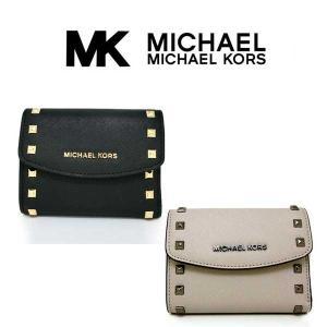 マイケルコース 財布 Michael Kors 本革 短財布...