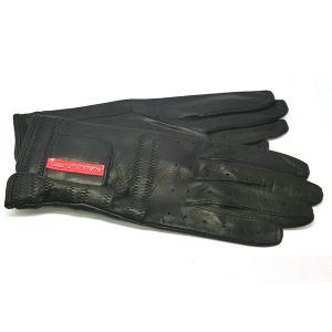 プラダ PRADA 手袋 グローブ prg468 nero 本革 レザー ブラック 黒 ブランド小物 8032711444585 (t807) グラブ M L italybag