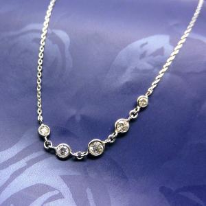 ブレスレット ダイヤモンド 0.15ct PT プラチナ 18cm ブレス 腕輪ジュエリー 天然石 ダイアモンド s01352630(t911-3)|italybag