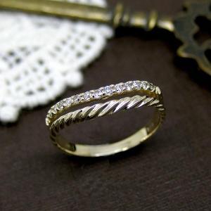ピンキーリング 指輪 ダイヤモンド 4月誕生石 K10 WG/PG/YG ジュエリー 宝石 sm13911344 ダイアモンド 2014SS|italybag