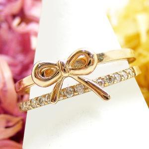 ピンキーリング 指輪 ダイヤモンド 4月誕生石 K10 WG/PG/YG ジュエリー sm13911351|italybag