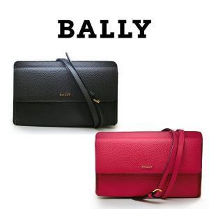 BALLY ショルダーバッグ ブラック ピンク カーフレザー ポーチ ポシェット バリー バッグ レディース bagss 260 756 (t707) 1514191839 901123822361|italybag