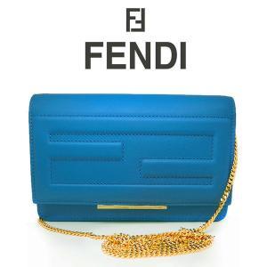 FENDI ビッグウォレット 財布 ライトブルー ミニバッグ クラッチバッグ 8m03461d5f077n (t707) 8058338078538 italybag