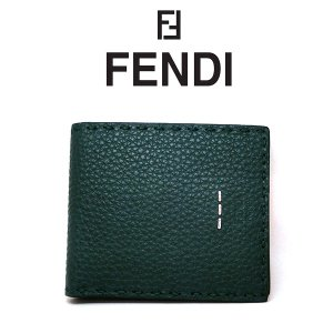 FENDI 二つ折り財布 SELLERIA(セレリア) フェンディ 折り畳み財布  カーフレザー 27m0193f07t0 (t707) 8053362038015|italybag