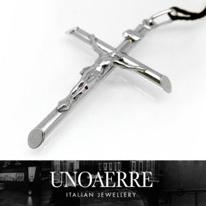 ウノアエレ ペンダントトップ クロス 十字架 ホワイトゴールド UNOAERRE レディース (t702) 005399 042pcc0061000(nd)|italybag