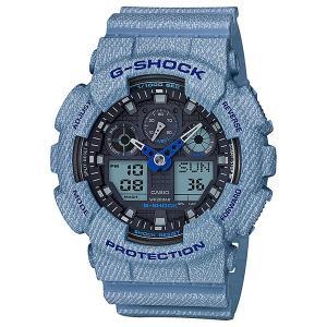 G-SHOCK カシオ メンズ DENIM'D COLOR CASIO デニム watchss 腕時計 ga-100de-2ajf(t706) 4549526162268(nd)|italybag