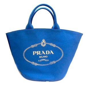 PRADA CANAPA プラダ カナパ 2way トートバッグ ポーチ付き レディース 1bg163(t805) 8050533658560 blue AZZURRO|italybag