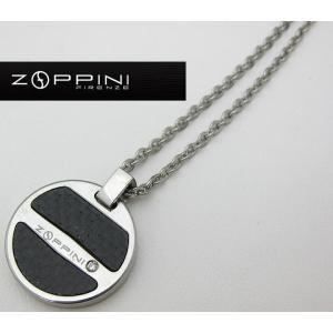 ステンレス ネックレス zq1323-2a92 ZOPPINI ゾッピーニ イタリア メンズ italybag
