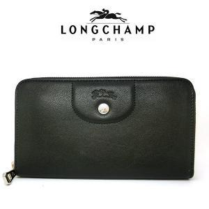 12c501c543f6 ロンシャン LONGCHAMP ラウンドファスナー 長財布 13427737 001 2597921.