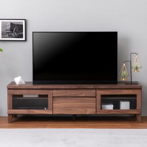 150 テレビボード ミディアムブラウン 一生紀 FLOCK フロック2 幅150 テレビボード テレビ台 TV台 TVボード ローボード 天然木 ウォルナット 無垢材 一生紀