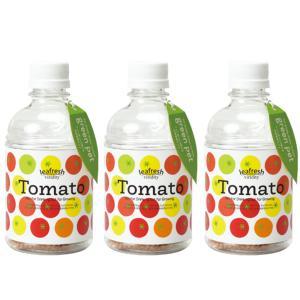 育てるグリーンペット ミニトマト ペットボトルで育てる水耕栽培セット 3個セット 送料無料|itanse