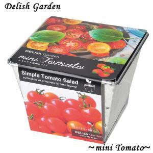 栽培キット デリッシュガーデン ミニトマト 1個 簡単栽培セット セット販売 セット商品 送料無料|itanse