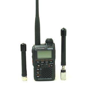 広帯域受信機(ワイドバンドレシーバー・マルチバンドレシーバー)/スタンダード/VR-160と高感度消防・エアバンド専用アンテナセット VR-160+RTS-150 itax