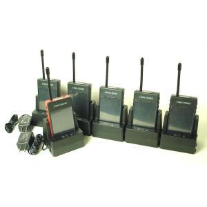 (5組セット)ガイディング送信機x1台と受信機x5台のお得なセット(充電器、バッテリー付) (送料無料)|itax