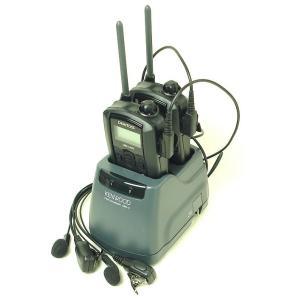 (2組セット) インカム ケンウッド/UBZ-LP20 (ブラック) 新4点セットに純正ツイン充電器採用 itax