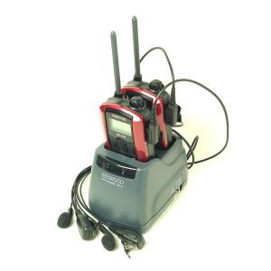 (2組セット)インカム ケンウッド/UBZ-Lp20 (レッド) 新4点セットに純正ツイン充電器を採用 itax