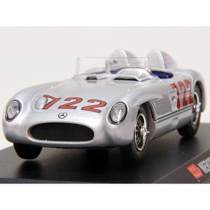 1/43 1000 MIGLIA Collection No.19 Mercedes 300 SLRミニチュアモデル|itazatsu