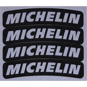タイヤ用ロゴステッカー MICHELIN (反射タイプ/4枚セット)|itazatsu