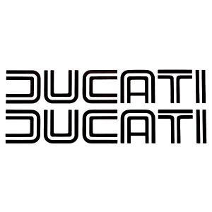 ドゥカティ旧ロゴステッカー (切文字タイプ/2枚セット)|itazatsu
