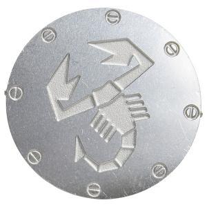 アバルトスコーピオンアルミエンブレム(25mm)|itazatsu