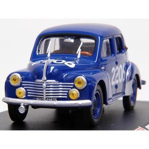 1/43 1000 MIGLIA Collection No.43 Renault 4CVミニチュアモデル|itazatsu