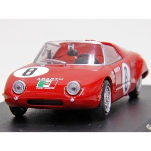 1/43 アバルト Collection No.60 1000 SPIDER  SPORT 1962年ミニチュアモデル|itazatsu