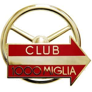 CLUB 1000 MIGLIA純正グリルエンブレム (ゴールド) itazatsu
