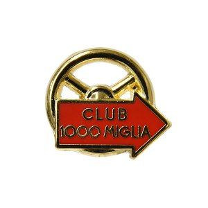 CLUB 1000 MIGLIA純正ピンバッジ itazatsu
