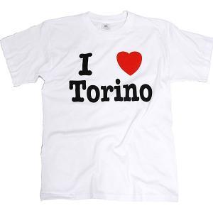 I LOVE TORINO Tシャツ (ホワイト)|itazatsu