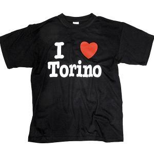 I LOVE TORINO Tシャツ (ブラック)|itazatsu