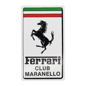 フェラーリ Ferrari Club Maranelloエンブレムステッカー|itazatsu