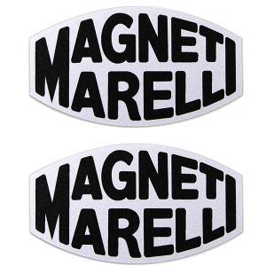 MAGNETI MARELLIロゴステッカー(2枚組/クリア枠ベース)|itazatsu