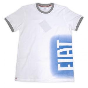 フィアット純正スプレイロゴTシャツ(ホワイト)|itazatsu