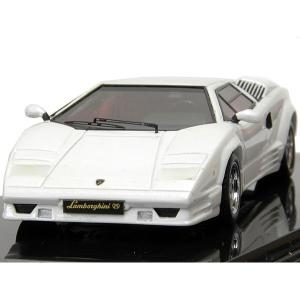 1/43 ランボルギーニ Countach 25thアニバーサリーミニチュアモデル(ホワイト) itazatsu