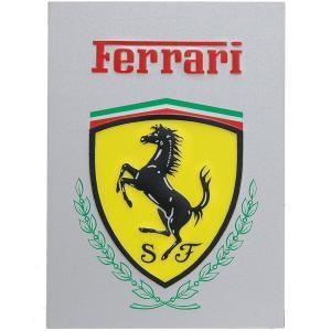 フェラーリ エンブレムプレート|itazatsu