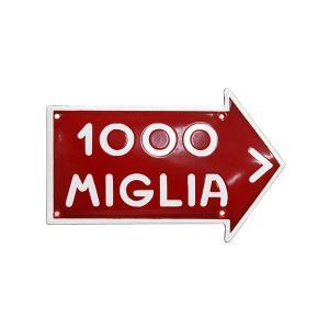 1000 MIGLIAホーローサインボード(Small) itazatsu