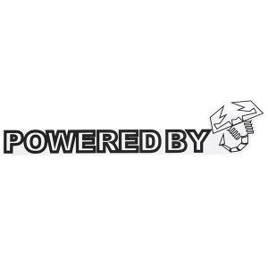 POWERED BY SCORPIONEロゴステッカー(ブラック)|itazatsu