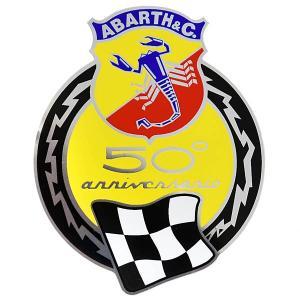 アバルト 595 50周年エンブレムステッカー|itazatsu