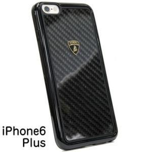 ランボルギーニ純正iPhone6/6s Plus背面ケース(カーボン/ブラックフレーム)|itazatsu