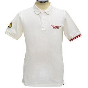 アバルト純正595 50周年アニバーサリーポロシャツ(ホワイト)|itazatsu
