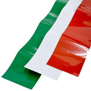 イタリア国旗ストライプデカール(3ピースタイプ)|itazatsu