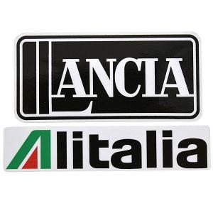 ランチア Alitaliaヴィンテージタイプステッカー|itazatsu